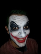 The Joker face paint by Cynnamon/Bay Area Party Entertainment
